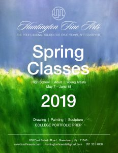 Hunt Fine Arts Spring Schedule